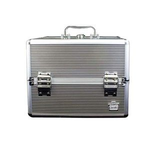 Caboodles | Silver Goddess 4-Tray Train Case